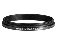 M43.0 to M40.5 Step-Down Adapter, #36-012