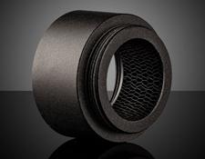 15mm Length, Acktar Hexa-Black™ C-Mount Noise Reduction Extension Tube